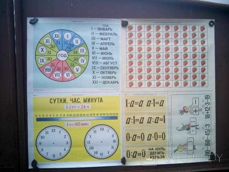 Наглядные-учебные пособия по метематике 20шт, фото №3