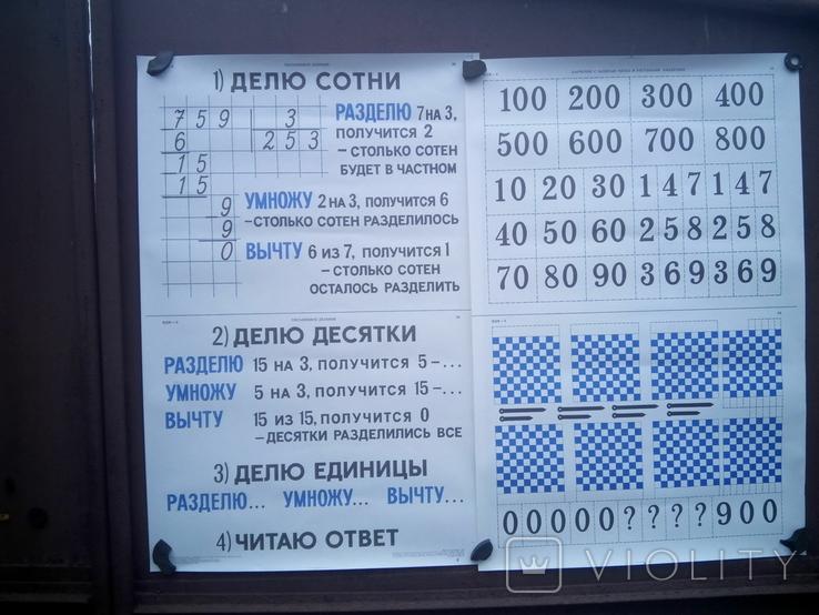 Наглядные-учебные пособия по метематике 20шт, фото №5