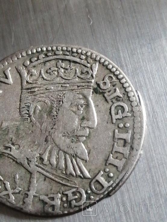 Монета 1593 року. Срiбла(Аg) 2.62 гр., фото №7