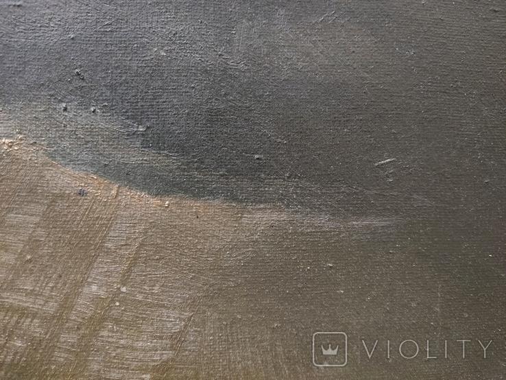 Старинная картина,пейзаж, фото №9
