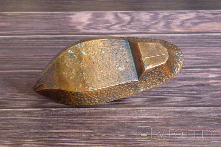 Пепельница туфелька, пепельница башмачок СССР, фото №8