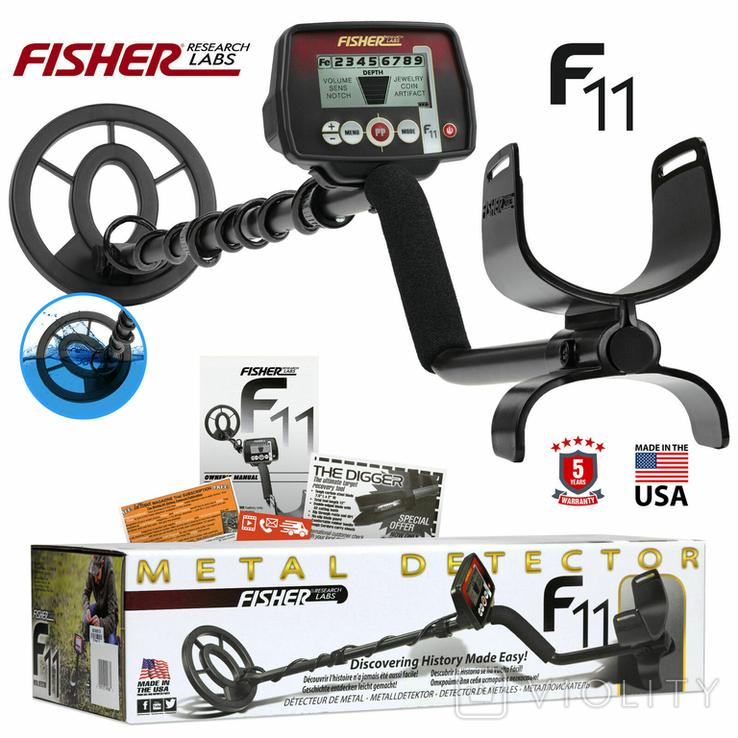 Fisher F11 Металлоискатель Скидка