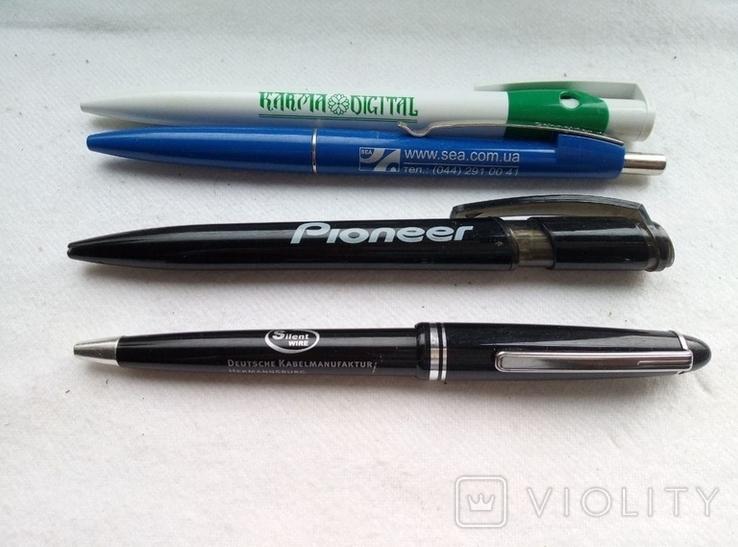 Ручки шариковые, брендированные, 7 штук., фото №3