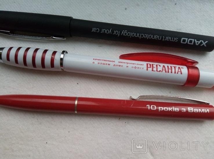 Ручки шариковые, брендированные, 7 штук., фото №6