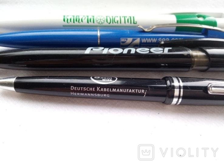 Ручки шариковые, брендированные, 7 штук., фото №7