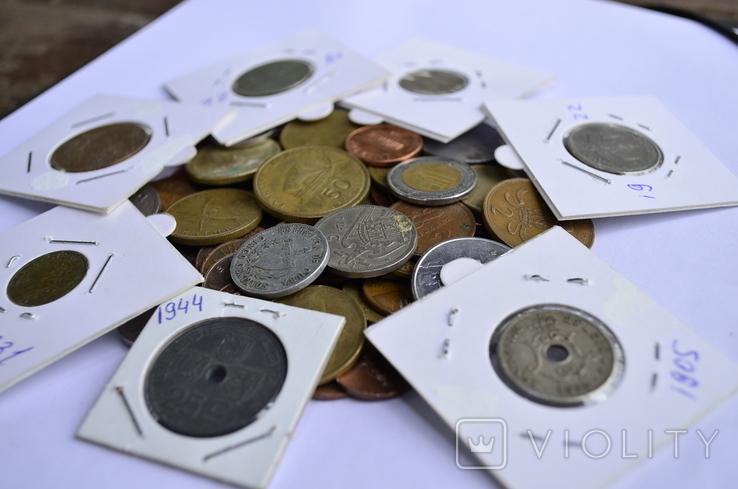 Монети Європи (холдери) 76 штук №6, фото №2