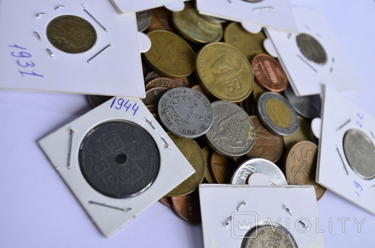 Монети Європи (холдери) 76 штук №6, фото №9