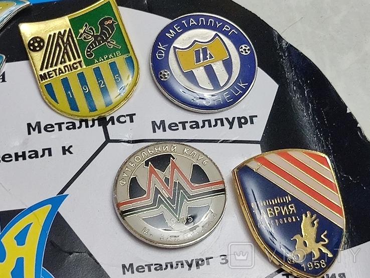 Футбол.ФК Премьер Лиги Украины.17 шт, фото №7
