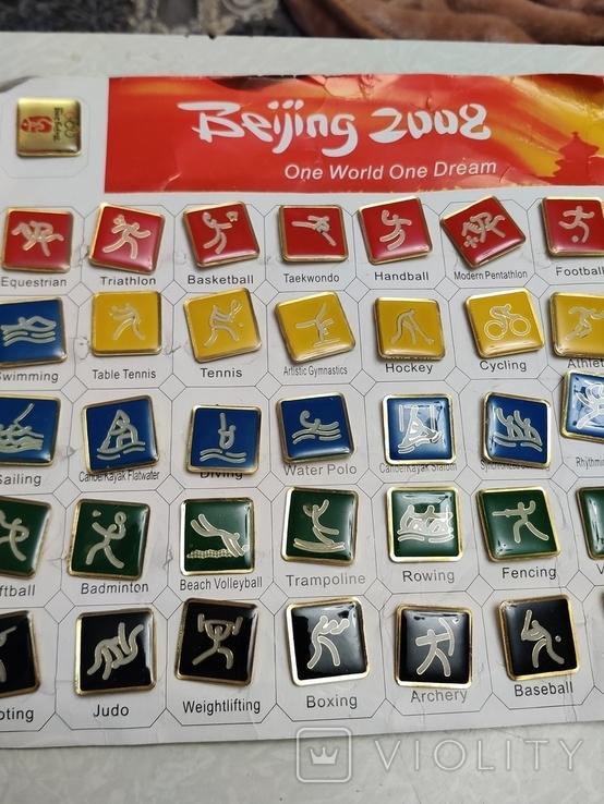 Олимпиада. Пекин 2006. Олимпийские виды спорта.36 шт. Тяжелые, фото №2