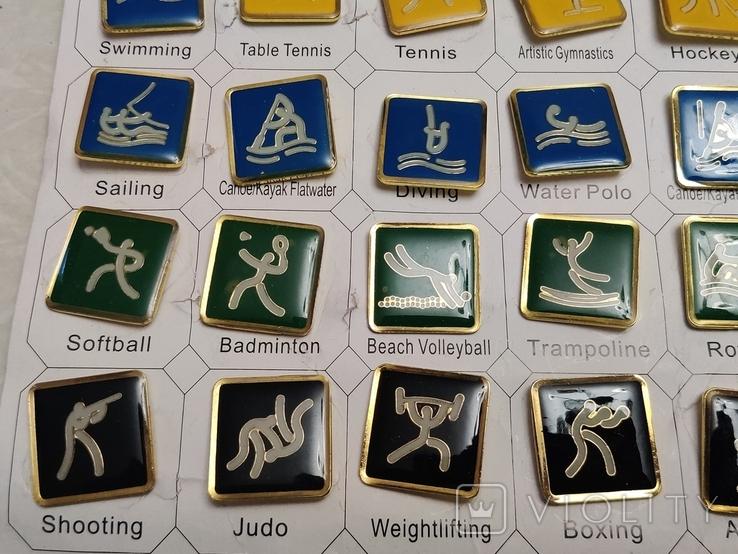 Олимпиада. Пекин 2006. Олимпийские виды спорта.36 шт. Тяжелые, фото №5