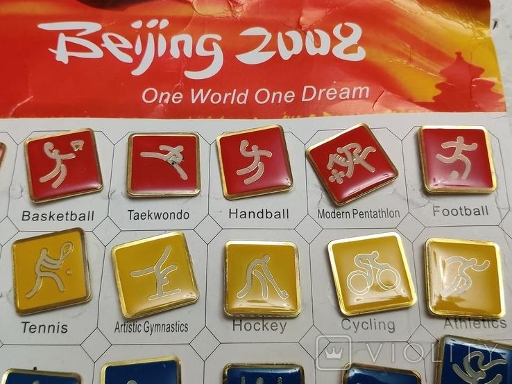 Олимпиада. Пекин 2006. Олимпийские виды спорта.36 шт. Тяжелые, фото №6