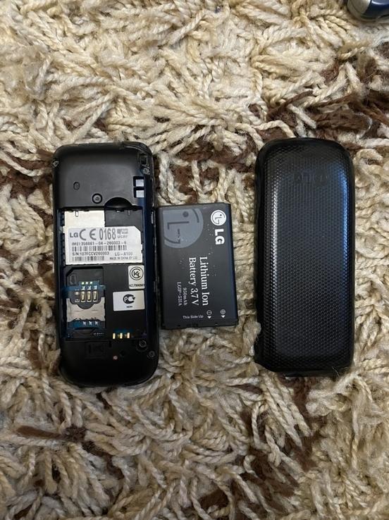 Телефон LG A100 + зарядка, фото №3