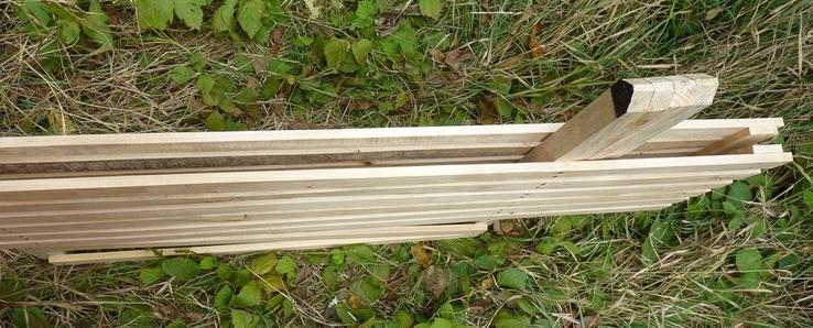 Дерев'яний розкладний стіл (1,50 х 0,75 м) 1092150, фото №6