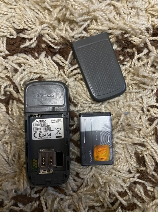 Телефон Nokia 1208 із зарядкою, фото №4