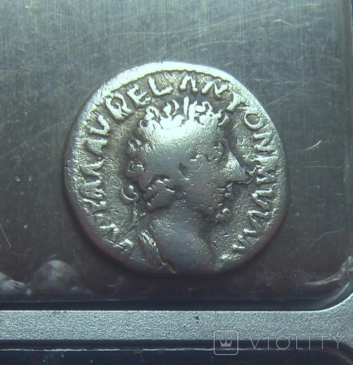Варварское подражание денарию М. Аврелия, фото №5