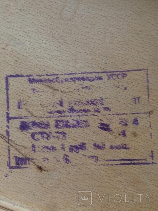 Шахматы карболит доска 37 см, фото №9