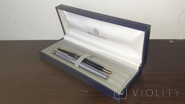 Чернильные ручки набор в футляре, фото №3