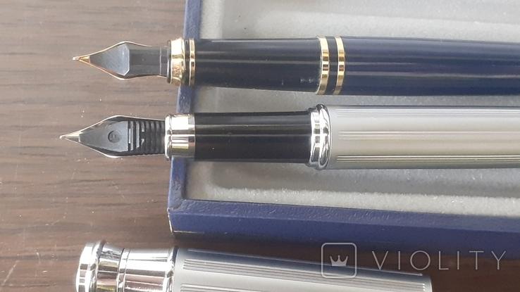 Чернильные ручки набор в футляре, фото №4