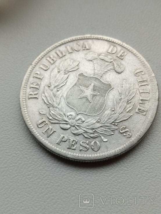 Песо 1885, фото №4