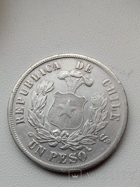 Песо 1885, фото №5