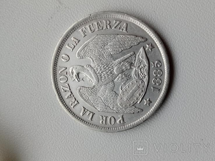 Песо 1885, фото №6