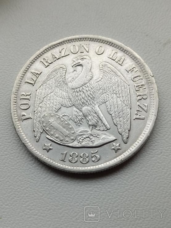 Песо 1885, фото №2