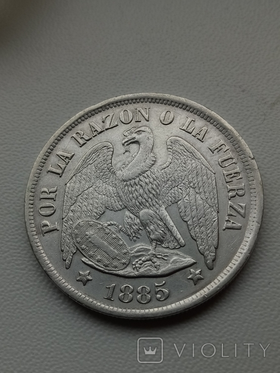 Песо 1885, фото №8