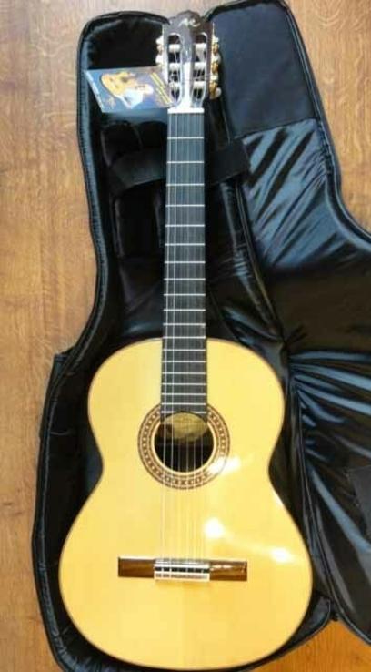 Классическая гитара Manuel Rodriguez D Rio в подарок чехол ROCKBAG RB20508B Deluxe, фото №2