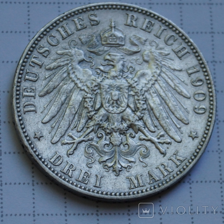 3 Марки 1909 год., фото №3
