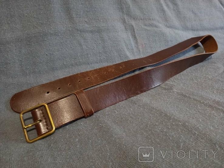 Старый кожаный пояс Германия ремень, фото №5