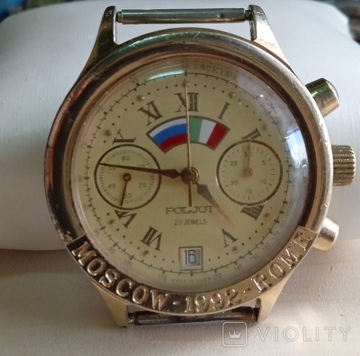 Полёт хронограф Москва Рим, 3133, ( не выкуп), фото №3