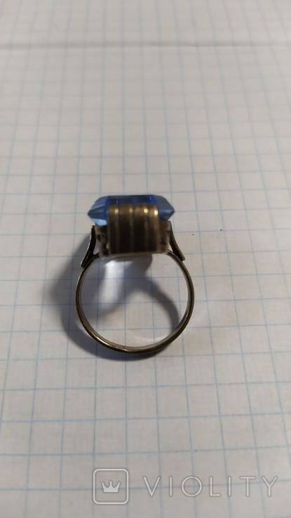 Серебренный перстень из СССР. 875 со звездой., фото №9