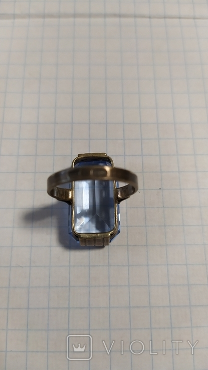 Серебренный перстень из СССР. 875 со звездой., фото №10