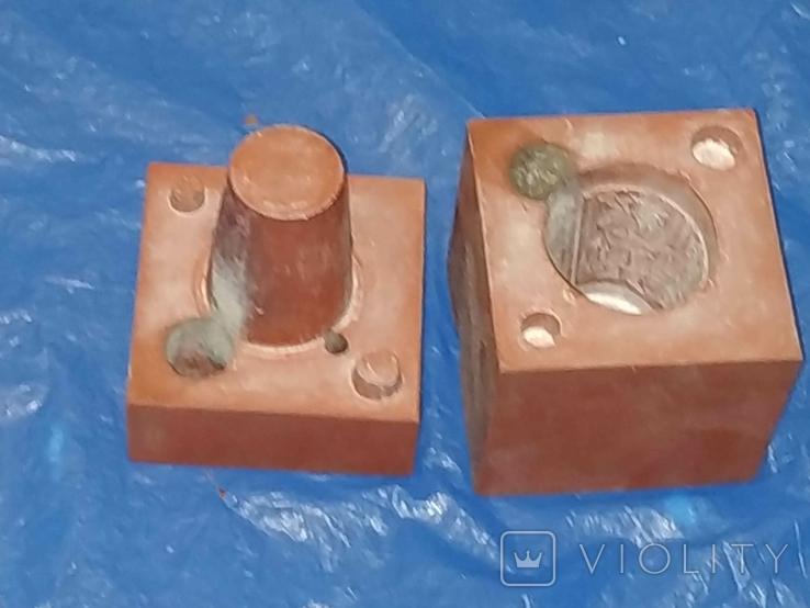 Форма для изготовления металлических рюмок Германия., фото №3