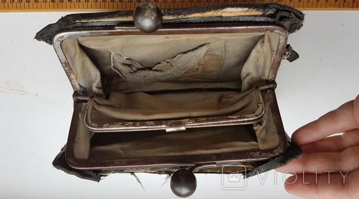 Ридикюль старый дореволюционный, фото №6
