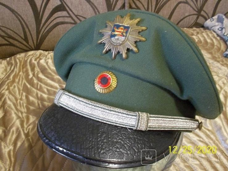 Фуражка  офицерская  тюрингия    полиция.  германия., фото №5