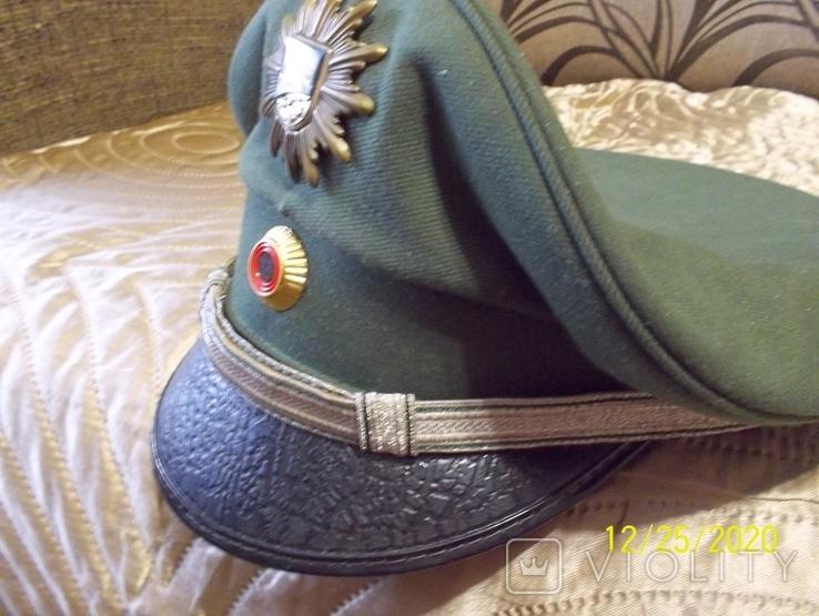Фуражка  офицерская  тюрингия    полиция.  германия., фото №7