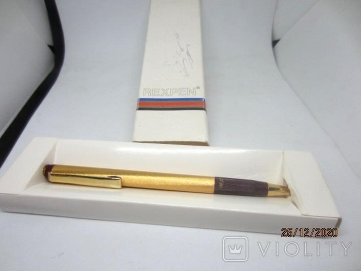 Rexpen Diplomat 1801 gold, фото №2