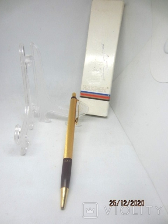 Rexpen Diplomat 1801 gold, фото №4