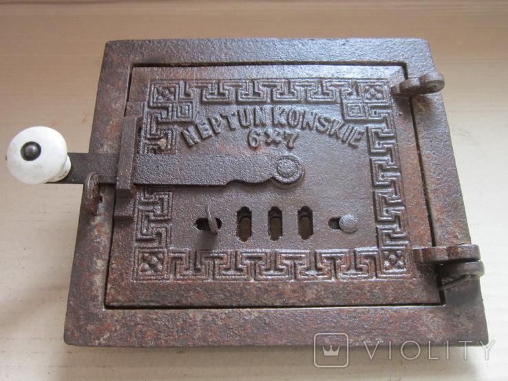 Пічні дверцята 1900р.-12, фото №3