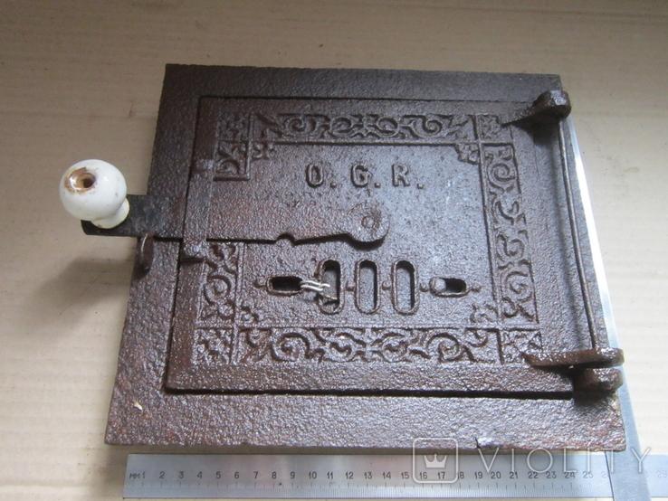 Пічні дверцята 1900р.-14, фото №2