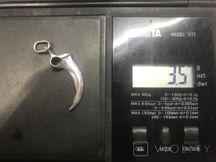 Кулон серебро, фото №4