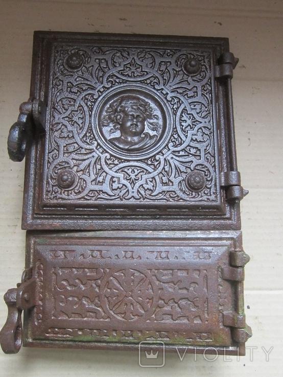 Пічні дверцята Путі 1900р.-16, фото №2