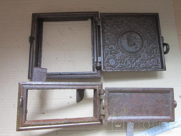 Пічні дверцята Путі 1900р.-16, фото №10