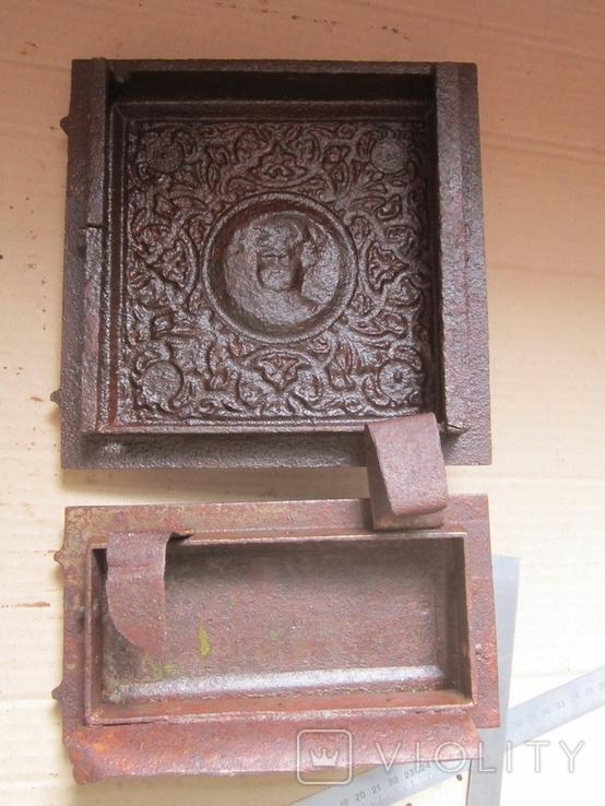 Пічні дверцята Путі 1900р.-16, фото №11