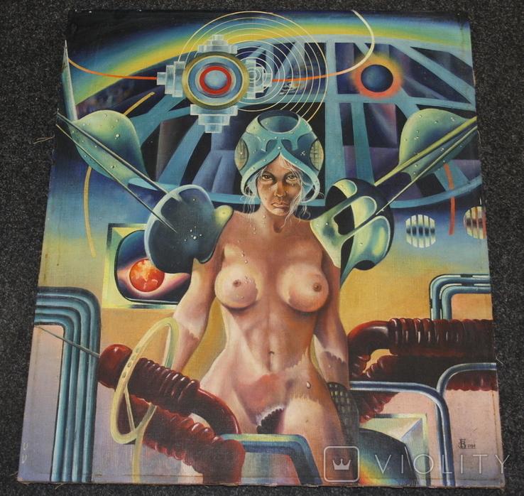 Картина  70х60   Подпись  1984г., фото №8