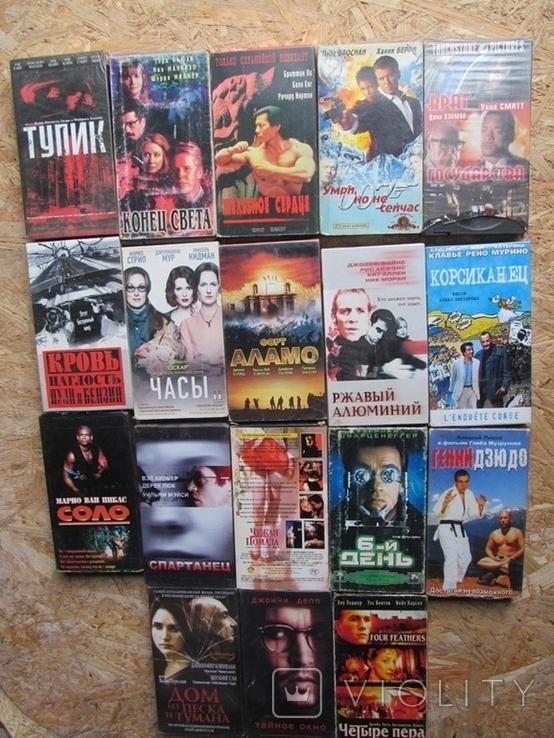 Видеокассеты. Коллекция 100 штук., фото №7