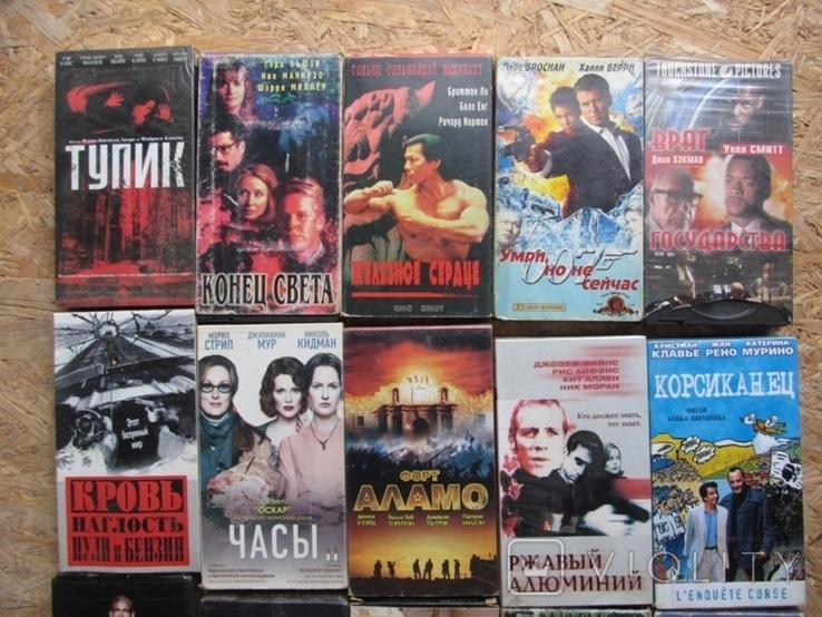 Видеокассеты. Коллекция 100 штук., фото №8