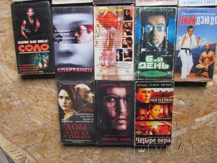 Видеокассеты. Коллекция 100 штук., фото №9