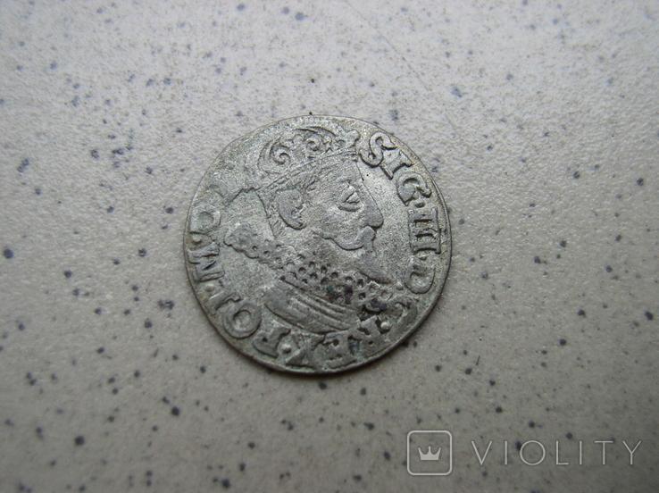 Трояк,Сигізмунда III,1622р., фото №2